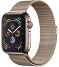 Apple Watch Series 4 Cell (LTE) 44 mm Edelstahl gold, Milanese gold